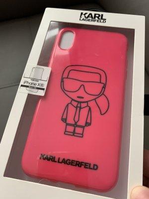 Karl Lagerfeld Wachlarz różowy