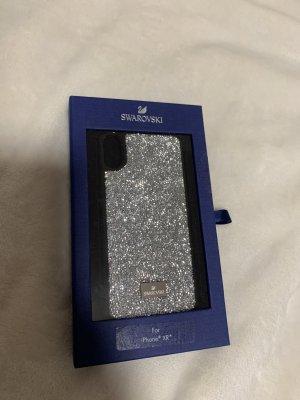 Swarovski Hoesje voor mobiele telefoons zilver