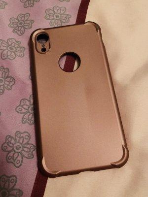 Étui pour téléphone portable or rose