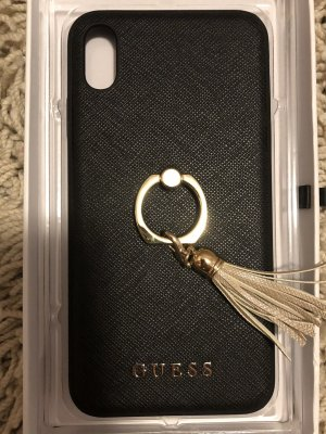 Guess Key Chain black