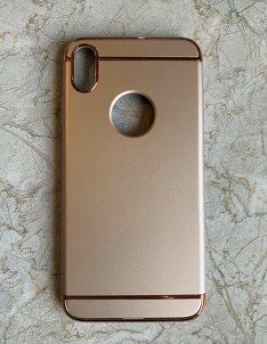 Carcasa para teléfono móvil color rosa dorado