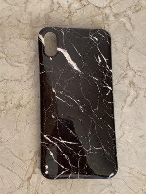Pokrowiec na telefon komórkowy czarny-biały