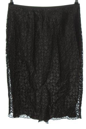 Ipuri Lace Skirt black mixture fibre