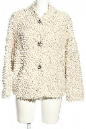 IQ+ Berlin Coarse Knitted Jacket natural white casual look