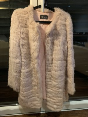 IQ+ Berlin Short Coat rose-gold-coloured fur
