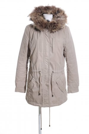 IQ+ Berlin Hooded Coat natural white casual look