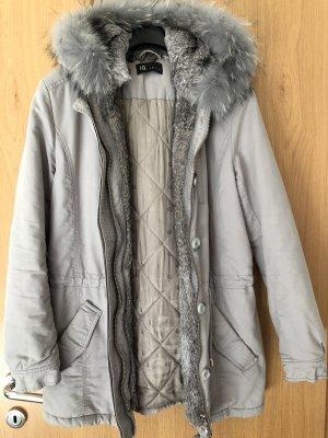 IQ+ Berlin Cappotto invernale grigio chiaro-crema