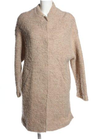 IQ+ Berlin Cappotto a maglia color carne stile casual