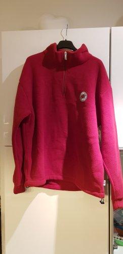 IQ Company Fleecepulli in rot Größe L