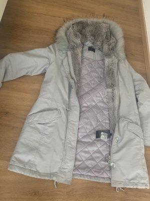 IQ+ Berlin Winter Coat light grey