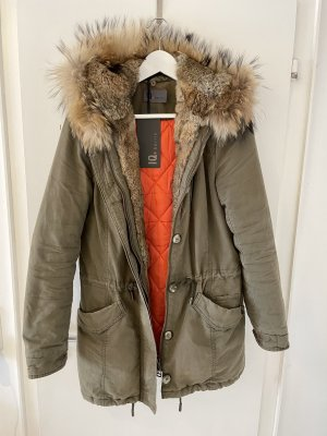 IQ+ Berlin Pelt Coat khaki