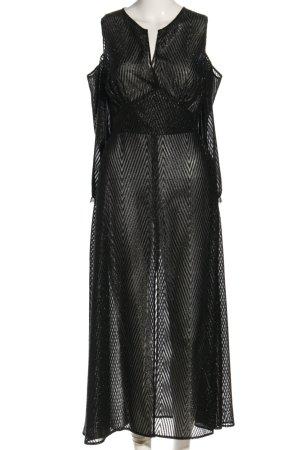 Irene Luft Midikleid schwarz Elegant