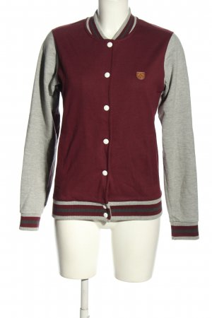 Iriedaily College Jacket red-light grey flecked casual look