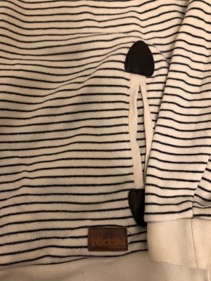 Iriedaily Hooded Sweater natural white-dark blue