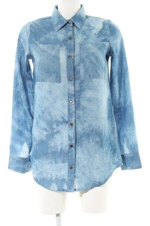 Iriedaily Langarm-Bluse blau Casual-Look