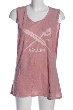 Iriedaily Longshirt pink Casual-Look
