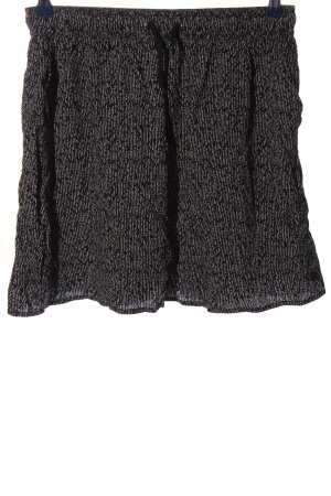 Iriedaily Miniskirt black-white allover print casual look