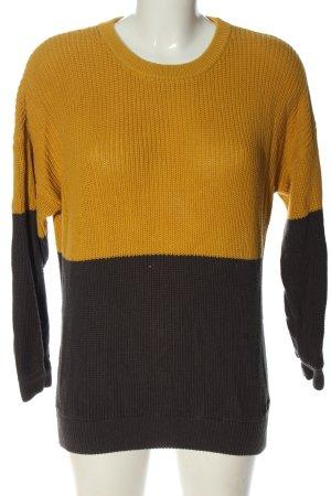 Iriedaily Crewneck Sweater brown-light orange casual look