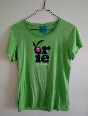 Iriedaily Print Shirt meadow green