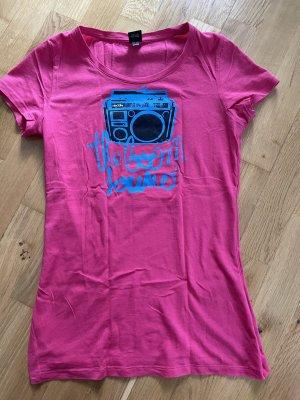 Iriedaily T-Shirt Oberteil Größe S 36 pink