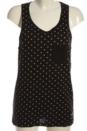 Iriedaily Strappy Top black-cream allover print casual look