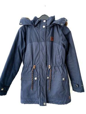 Iriedaily Winter Jacket dark blue