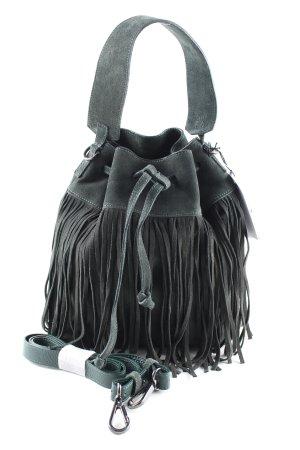 Iris & Ink Beuteltasche schwarz Casual-Look