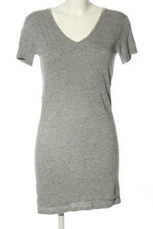 Iris & Ink Shirt Dress light grey flecked casual look