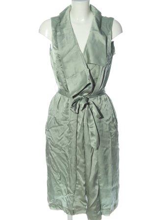 Iris & Ink Robe portefeuille vert élégant