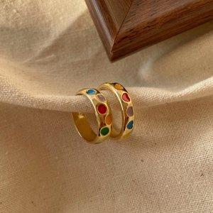 Partner Ring multicolored metal