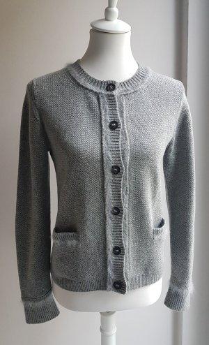 Iris von Arnim Cashmere Jumper light grey-grey