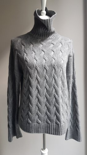 Iris von Arnim Cashmere Jumper light grey-grey