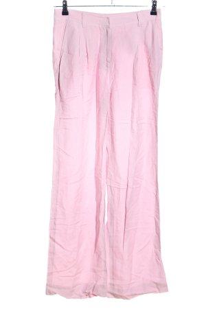 Iris von Arnim Pantalone a pieghe rosa stile casual