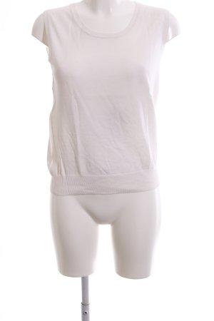 Iris von Arnim Cardigan en maille fine blanc style décontracté
