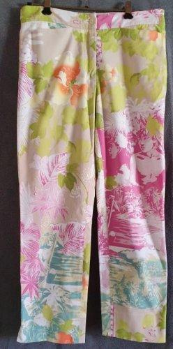 Iris von Arnim Pantalón de cintura alta multicolor Algodón
