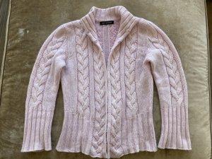 Iris von Arnim Crochet Cardigan pink