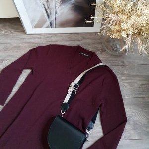 Iris von Arnim Robe en laine bordeau-brun rouge