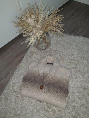 Iris von Arnim Cardigan marrone-grigio-beige
