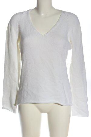 Iris von Arnim Maglione lavorato a maglia bianco stile casual