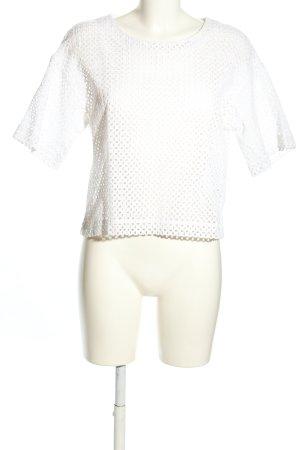 Iris von Arnim T-shirt bianco stile casual