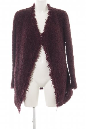 Iro Cardigan brombeerrot Street-Fashion-Look