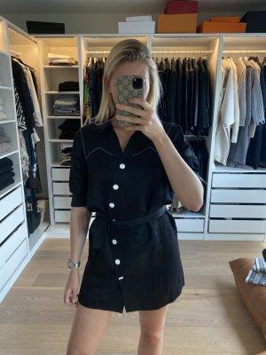 Sandro Abito blusa camicia nero-bianco
