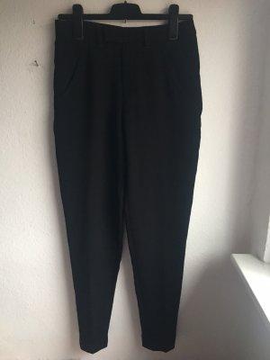 Iro Pantalon taille haute noir