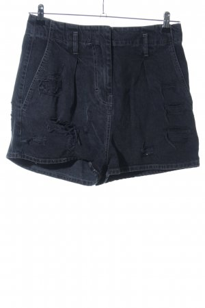 Iro Pantaloncino di jeans blu stile casual