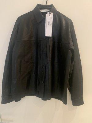 Iro Skórzana koszula czarny