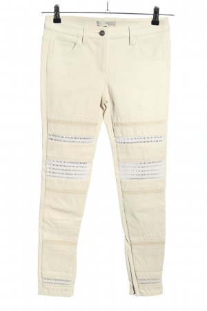 Iro Leather Trousers natural white casual look