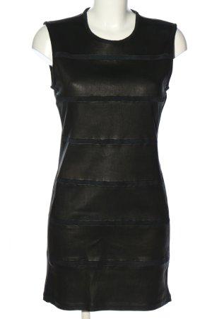 Iro Robe en cuir noir style décontracté