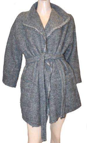 Iro Wool Jacket grey alpaca wool