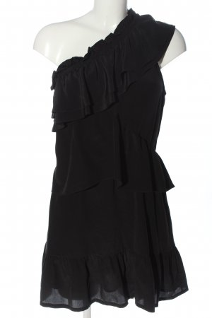 Iro One Shoulder Dress black casual look