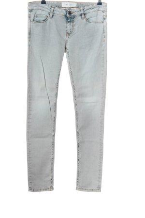 Iro Jeans a sigaretta grigio chiaro stile casual